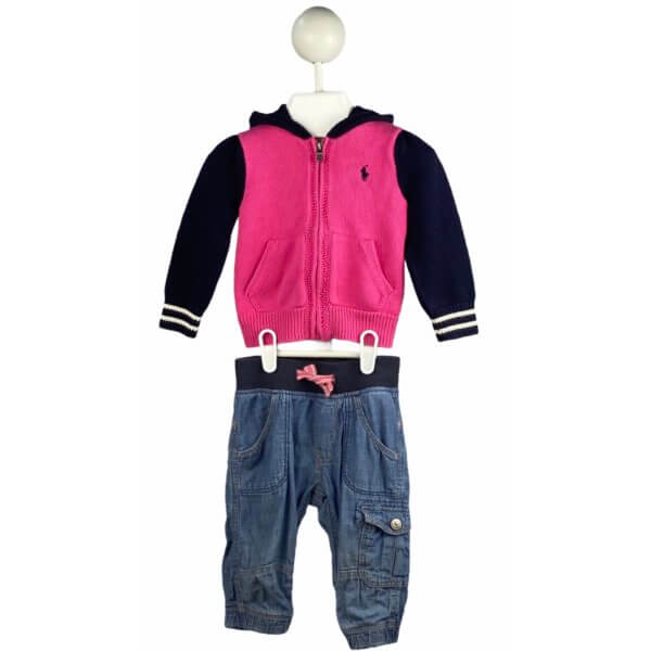Sweater with Hoodie | Jeans