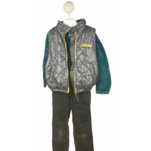 Sweater | Vest with Hoodie | Pants