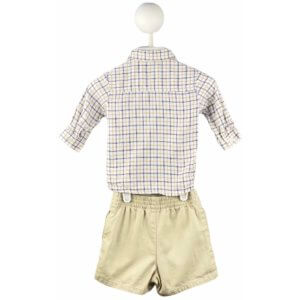 Long Sleeve Button Down   Shorts