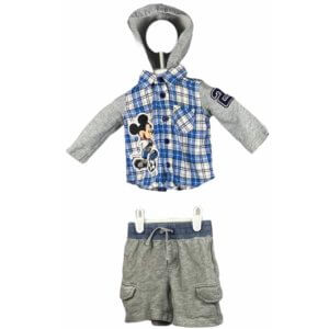 Button Down Shirt with Hoodie | Shorts