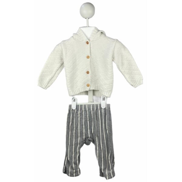 Knit Cardigan with Hoodie   Pants