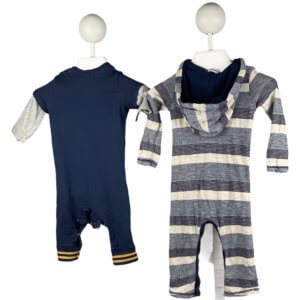 Long Sleeve Romper Onesie   Long Sleeve Romper Onesie with Hoodie