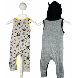 Sleeveless Romper Onesie | Sleeveless Romper Onesie with Hoodie