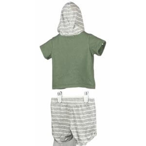 Shirt with Hoodie   Shorts
