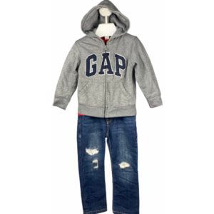 Shirt   Jacket with Hoodie   Jeans