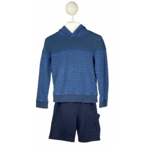 Long Sleeve Shirt with Hoodie | Shorts