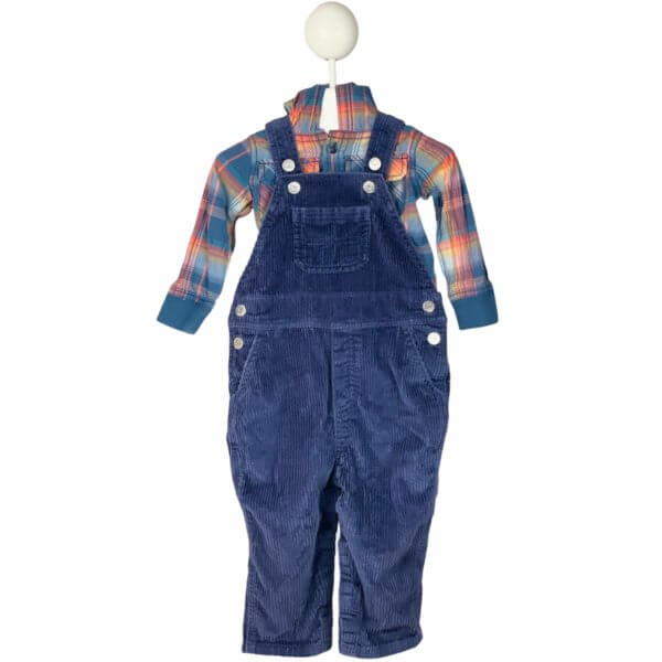 Dress Shirt with Hoodie   Overalls